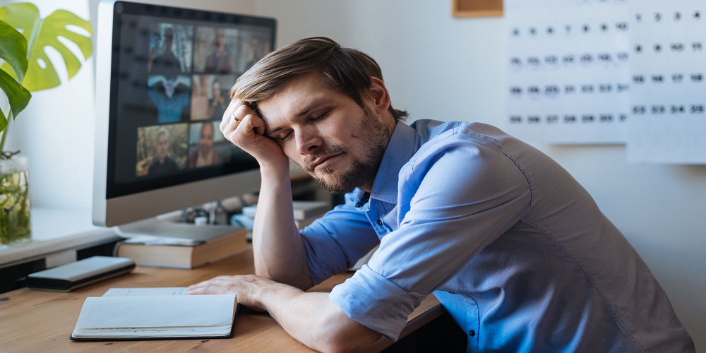 Study Finds Nearly Half the Workforce Is Fatigued from Video Calls