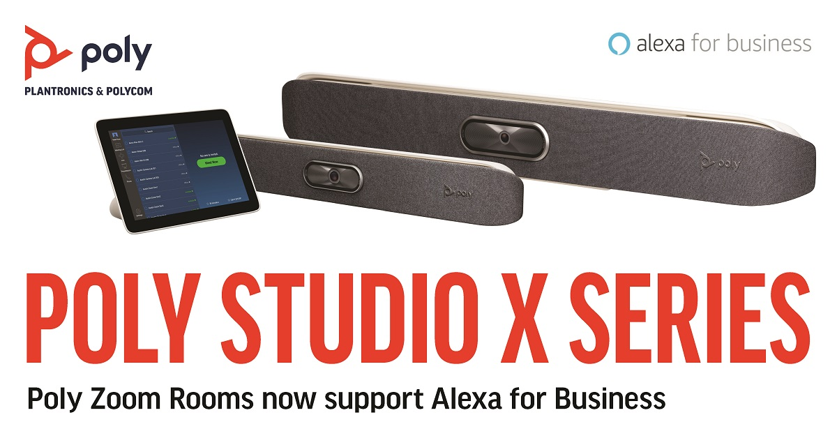 Poly Brings Alexa to Zoom Rooms