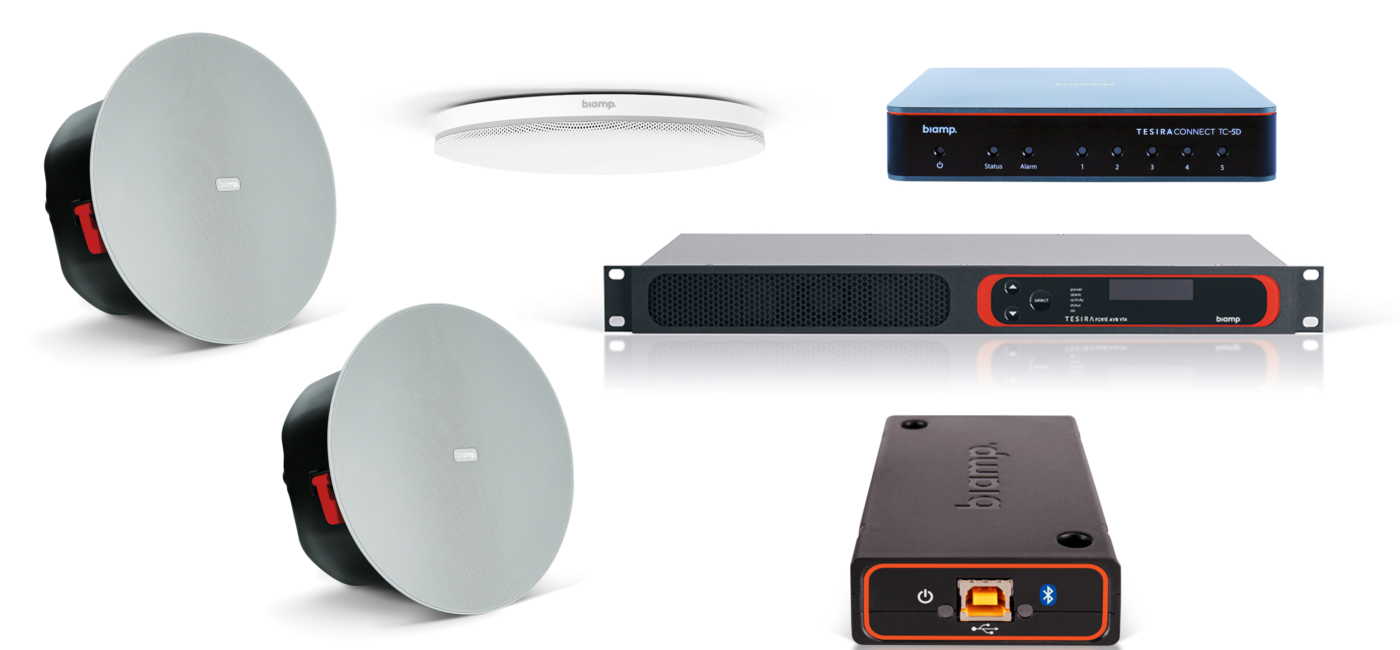 Zoom Certifies Biamp Conference Room Solutions for Use with Zoom Rooms