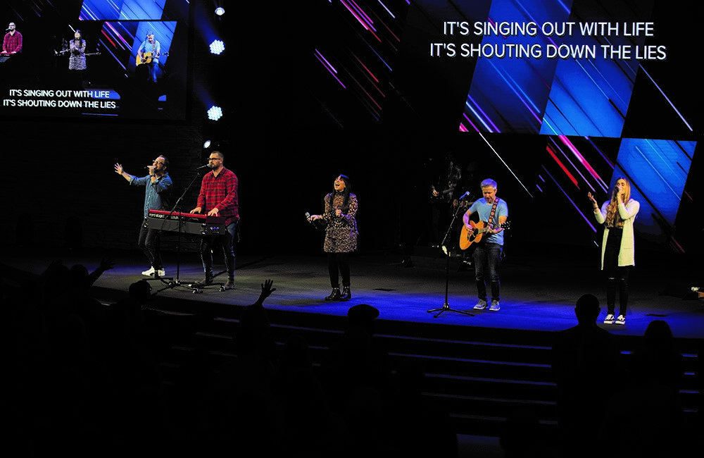 Destiny Worship Center Drives LED Video Walls on Multiple Campuses