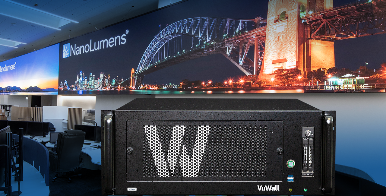 NanoLumens Partners with VuWall on Customized LED and Video Wall Control Solutions