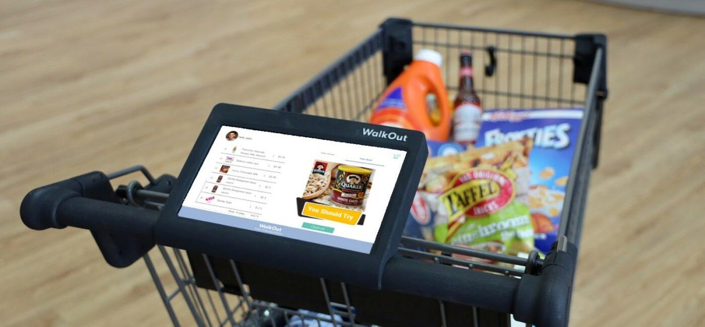 WalkOut Smart Cart Bills Shoppers on the Go