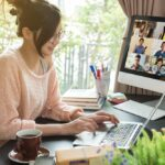 Work from home teleconference