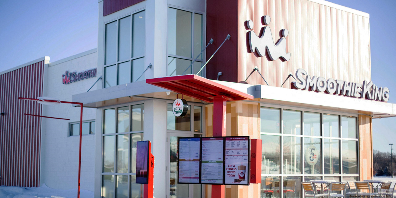 Smoothie King Moves Into 21st Century With Samsung Digital Displays