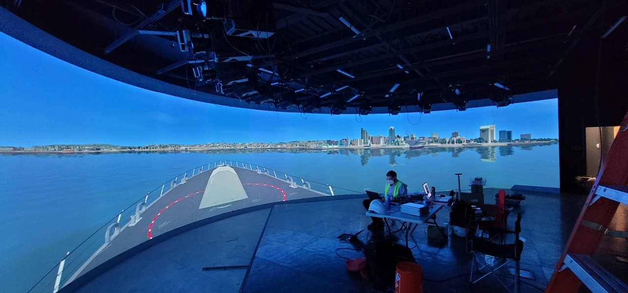 Electric Picture Display Systems, Scalable Display Technologies Collaborate on Maritime Training Simulators
