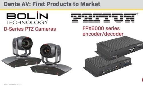 Audinate Dante AV Bolin Tech & Patton