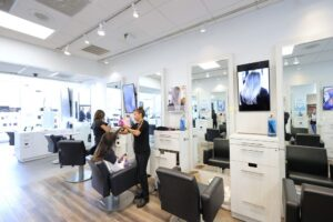 Samsung Display Technology at Panico Salon