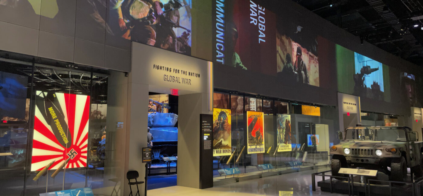 AV-Driven Exhibits at the National Museum of the United States Army (NMUSA), slide 0