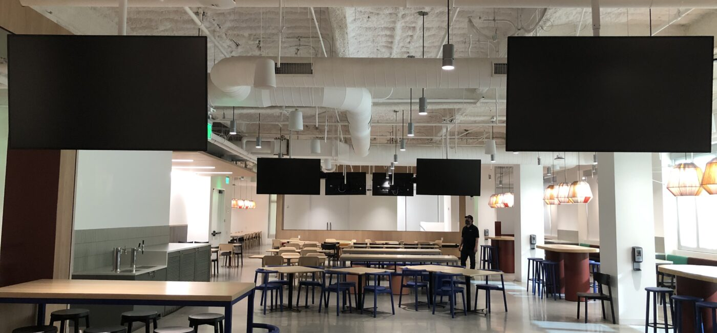 Best Meeting Room Project: Tech Company All Hands Meeting Room