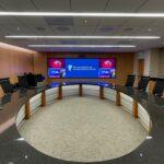 KU Hosp Boardroom_Installed by SKC Communications
