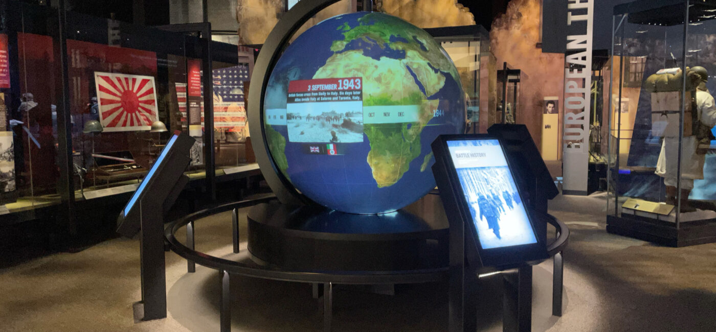 AV-Driven Exhibits at the National Museum of the United States Army (NMUSA)