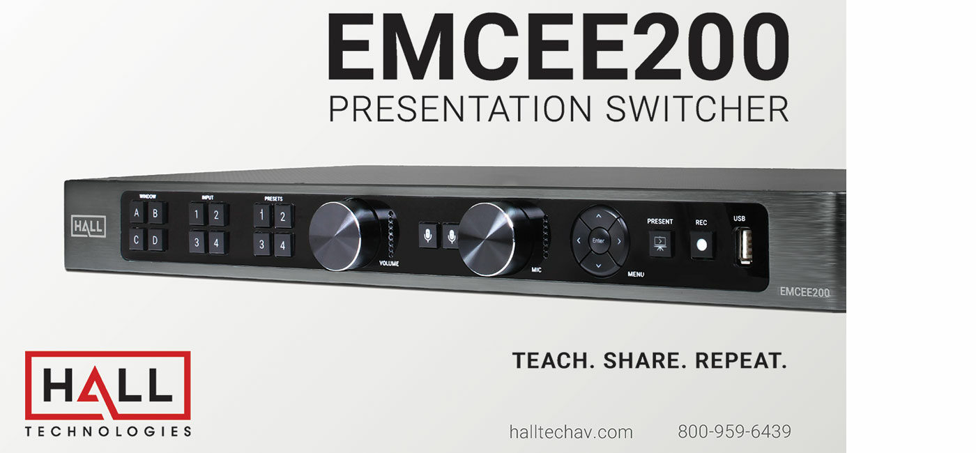 Record, Capture and Live Stream with our Seamless Multiview Presentation Switcher