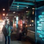 public outdoor LED signage